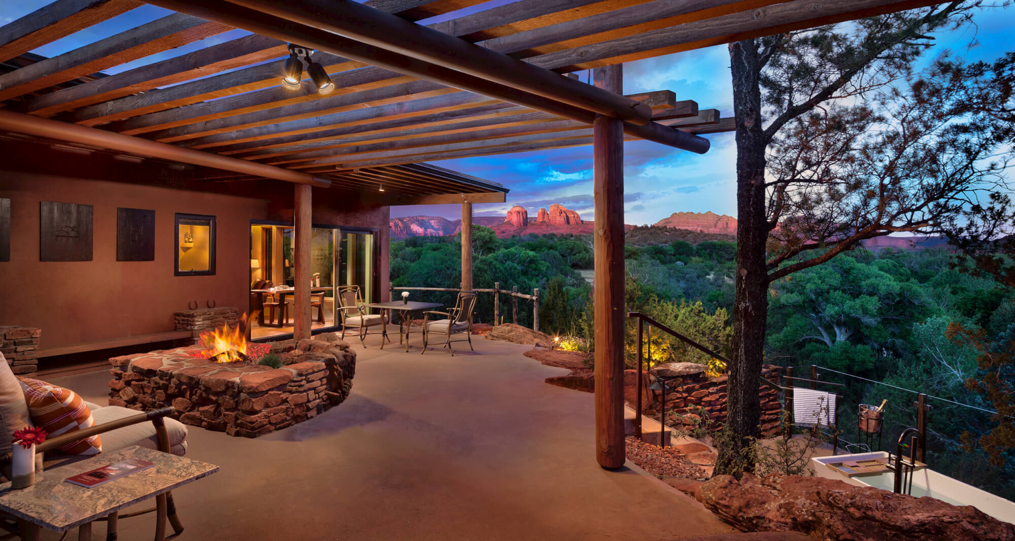 Sun Cliff Sedona Patio
